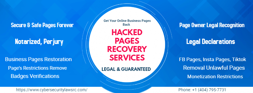 Hacked Pages Recovery