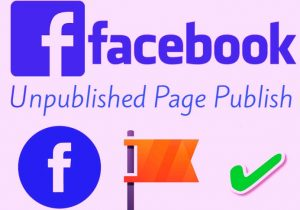 How to Republish Page Unpublished?