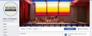 ex-employee compromised facebook page recovered